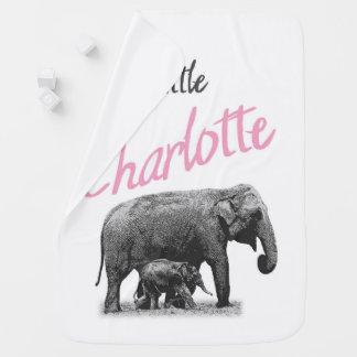 """Manta Para Bebe Cobertura personalizada do bebé """"pouco Charlotte """""""