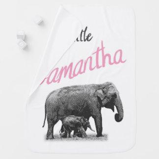 "Manta Para Bebe Cobertura personalizada ""Samantha pequena "" do"