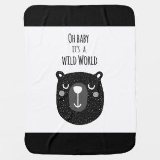 Manta Para Bebe Cobertura selvagem do bebê do mundo