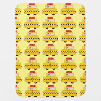 Manta Para Bebe Design amarelo do táxi