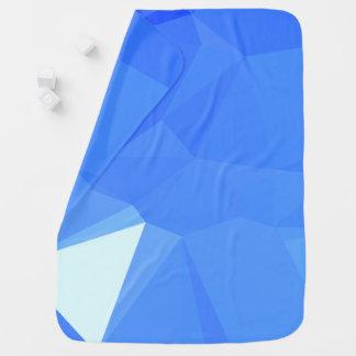 Manta Para Bebe Design geométrico elegante & limpo - mar da vela