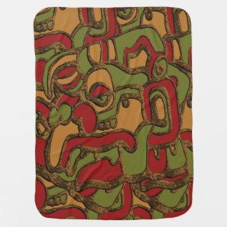 Manta Para Bebe Design maia original dos Hieroglyphs
