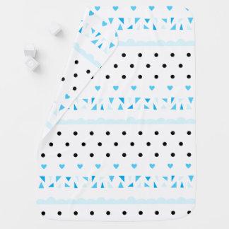 Manta Para Bebe Geometrics azul