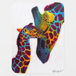 Manta Para Bebe Girafa