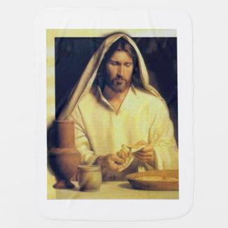 Manta Para Bebe Jesus que quebra o vintage do pão