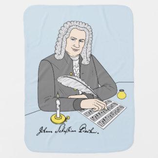 Manta Para Bebe Johann Sebastian Bach desenhado