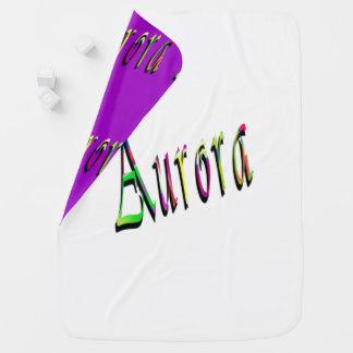 Manta Para Bebe Logotipo conhecido das meninas da Aurora,