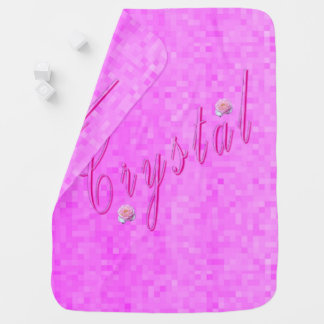 Manta Para Bebe Logotipo conhecido das meninas de cristal,