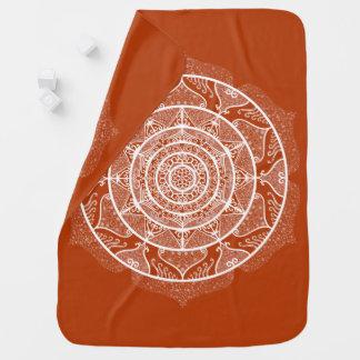 Manta Para Bebe Mandala do Henna