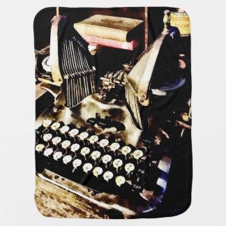 Manta Para Bebe Máquina de escrever antiga Oliver #9