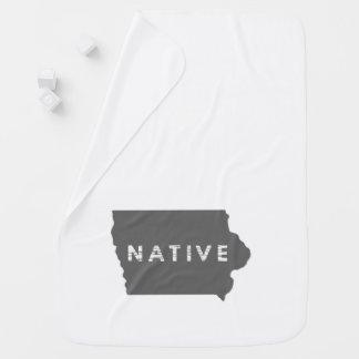 Manta Para Bebe Nativo de Iowa