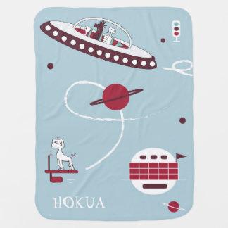 Manta Para Bebe Nave espacial & cobertura do bebê dos aliens