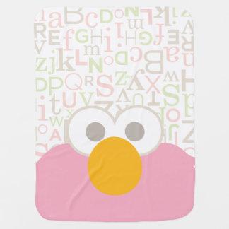 Manta Para Bebe O bebê Elmo enfrenta