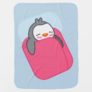 Manta Para Bebe O pinguim Napping caçoa a cobertura