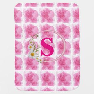 Manta Para Bebe O rosa bonito do editabl nubla-se a cobertura