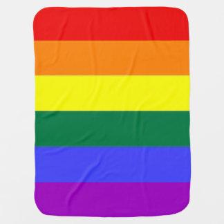 Manta Para Bebe Orgulho do arco-íris (2 tomados partido)