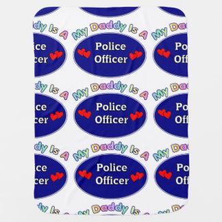 Manta Para Bebe Pais do agente da polícia