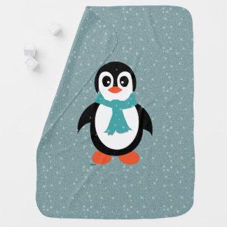 Manta Para Bebe Pinguim geral do bebé na agitação