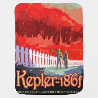 Manta Para Bebe Poster futuro de Sci Fi do viagem da NASA - Kepler