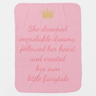 Manta Para Bebe Princesa Sonho