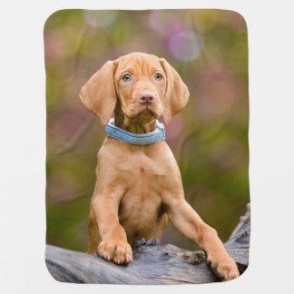 Manta Para Bebe _*puppyeyed bonito da foto do filhote de cachorro