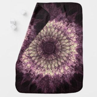 Manta Para Bebe Purple Mandala