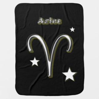 Manta Para Bebe Símbolo do Aries