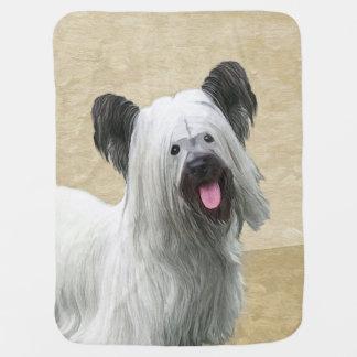 Manta Para Bebe Skye Terrier