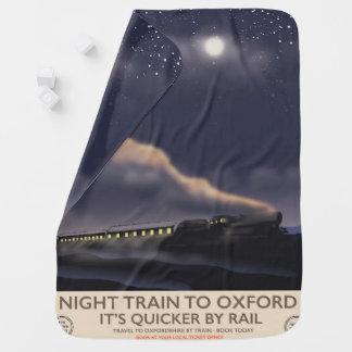 Manta Para Bebe Trem de noite a Oxford