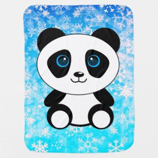 Manta Para Bebe Urso de panda pequena bonito