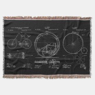 Manta Patente rústica da bicicleta do modelo dos coxins