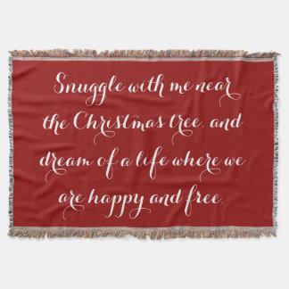 Manta Poema sentimental do Natal
