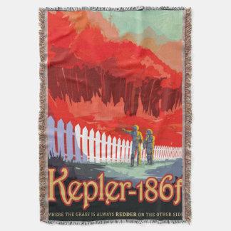 Manta Poster futuro de Sci Fi do viagem da NASA - Kepler