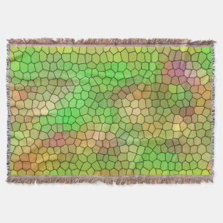 Manta Refrigere a cobertura verde do lance do teste