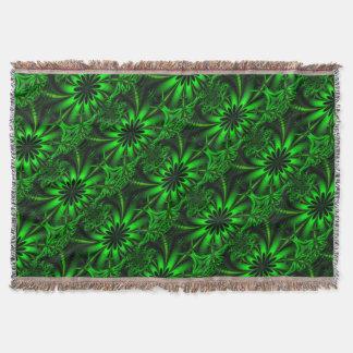 Manta Selva verde abstrata do Fractal