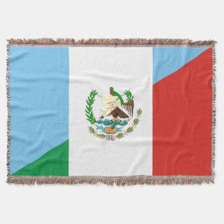 Manta símbolo da bandeira de guatemala México meio