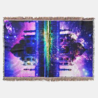 Manta Sonhos iridescentes de Taj Mahal
