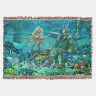 Manta Tesouro do recife de corais da sereia