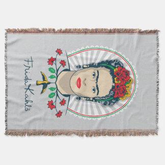 Manta Vintage de Frida Kahlo | floral