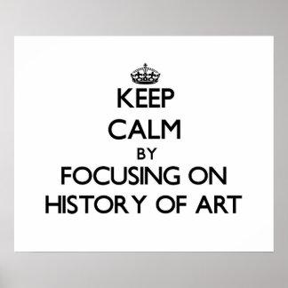 Mantenha a calma centrando-se sobre a história da impressão