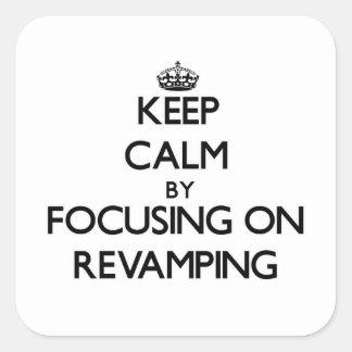 Mantenha a calma centrando-se sobre a melhora