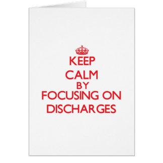 Mantenha a calma centrando-se sobre descargas cartoes