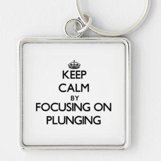 Mantenha a calma centrando-se sobre o mergulho
