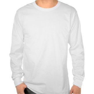 Mantenha a calma centrando-se sobre ser racional camisetas