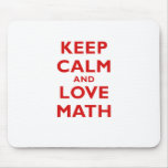 Mantenha a calma e a matemática do amor