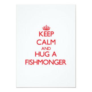 Mantenha a calma e abrace um Fishmonger Convites