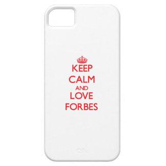 Mantenha a calma e ame Forbes Capas Para iPhone 5