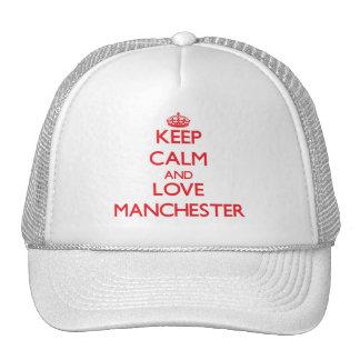 Mantenha a calma e ame Manchester Bone