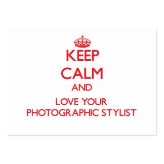 Mantenha a calma e ame seu estilista fotográfico