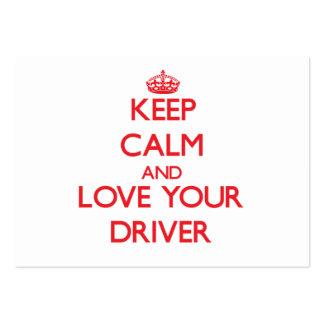 Mantenha a calma e ame seu motorista